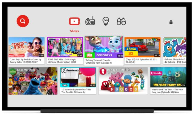 YouTube Samsung Smart TV Tizen