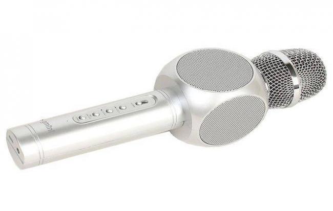 как работает микрофон караоке