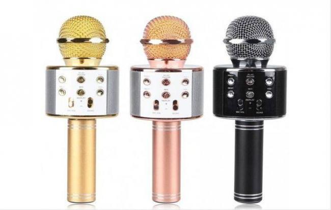 рейтинг микрофонов для караоке