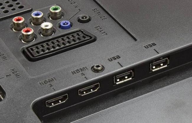 USB-разъемы в телевизоре