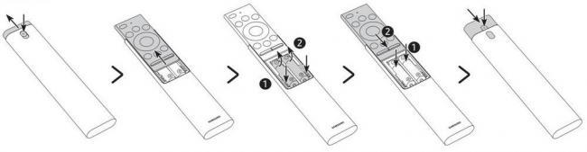 Как подключить пульт Smart Touch Control к телевизору Samsung