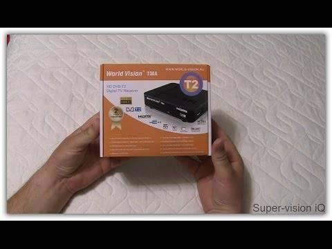TV тюнер World Vision T 34 A HD DVB T2 распаковка, обзор