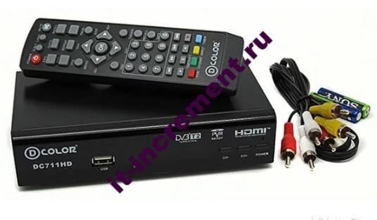DVB T2 pristavka
